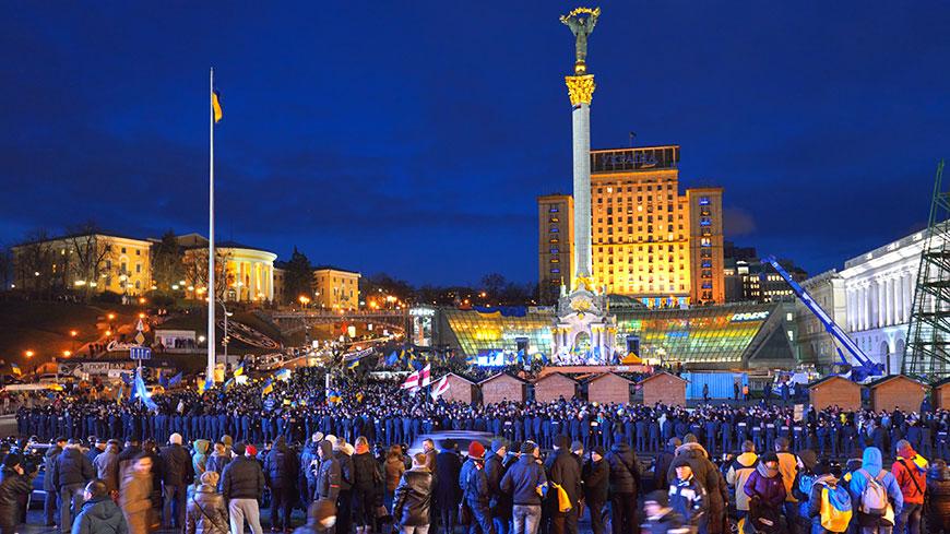 Manifestazioni di Maidan, Ucraina, novembre 2013 - febbraio 2014
