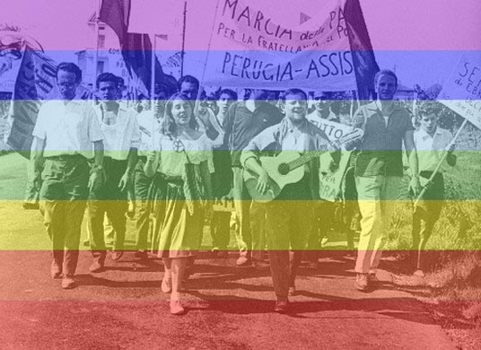 Marcia PerugiAssisi, foto di repertorio