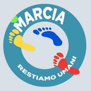 "Marcia ""Restiamo Umani"", logo"