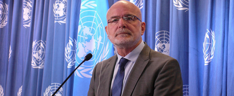 Michel Forst, United Nations Special Rapporteur on the situation of Human Rights Defenders