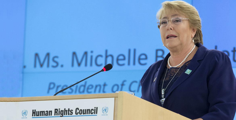 Michelle Bachelet, nominata settimo Alto Commissario delle Nazioni Unite per i diritti umani