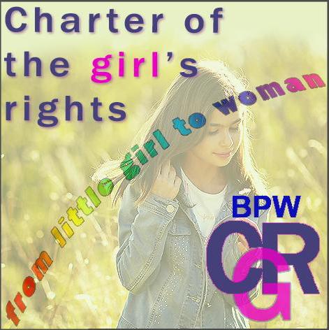 La Nuova Carta dei diritti della bambina è promossa dall'Associazione Femminile FIDAPA Business and Professional Women (BPW)