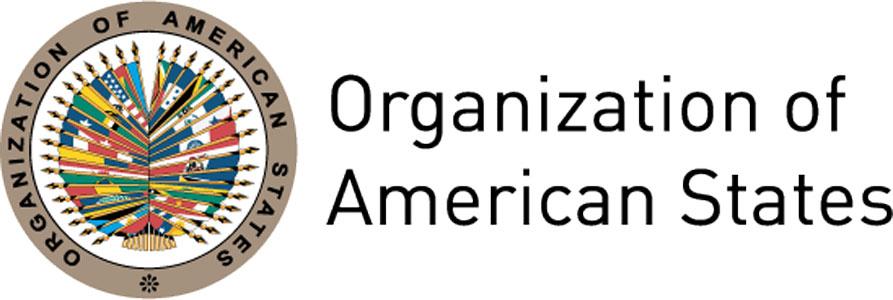 Logo Organizzazione degli Stati americani - OSA