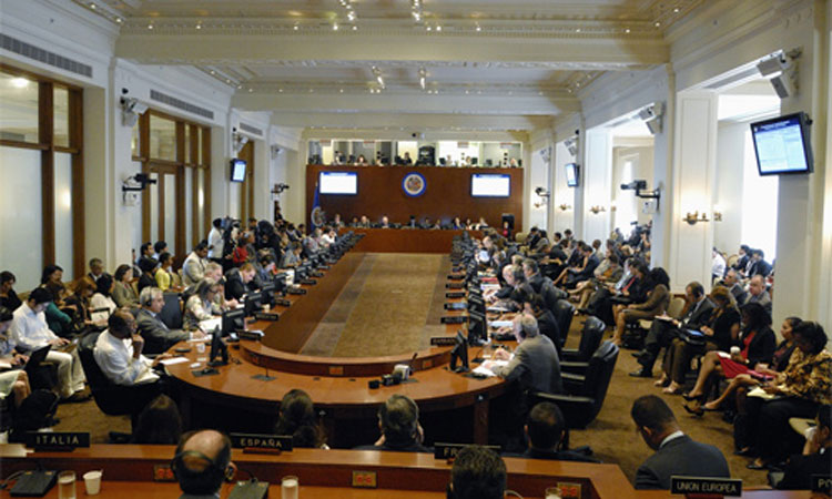 Seduta del Consiglio permanente dell'Organizzazione degli Stati Americani, 2012