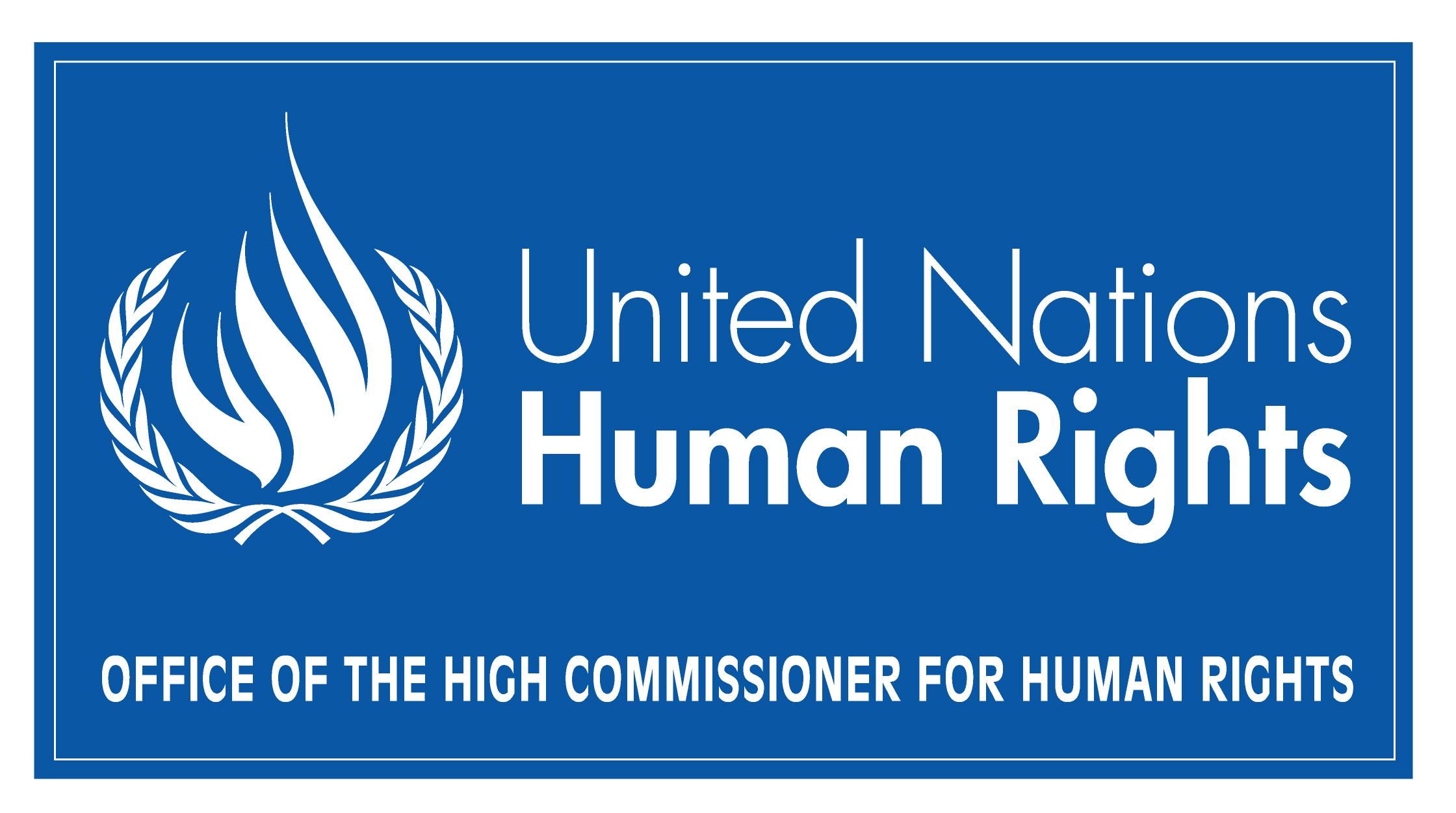 Logo Ufficio dell'Alto Commissario per i diritti umani delle Nazioni Unite di Ginevra
