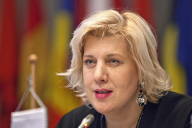 Dunja Mijatović, the OSCE Representative on Freedom of the Media