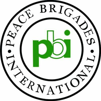 Logo PBI - Peace brigades international