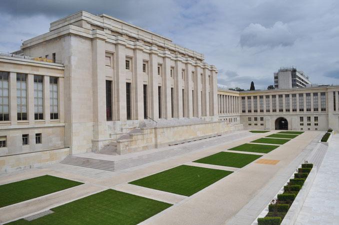 Palazzo delle Nazioni, Ginevra, 2013