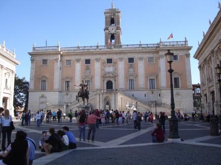 Palazzo dei Senatori in Piazza del Campidoglio
