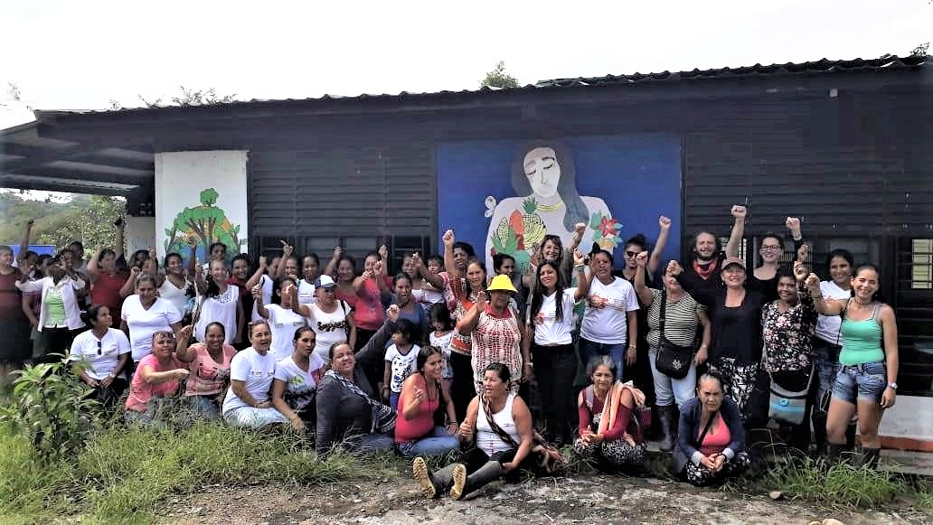 Women's meeting in the Peasant Reserve Zone Perla Amazónica - Puerto Asís (Colombia)