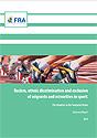 Copertina del Rapporto sul razzismo nello sport dell'Agenzia dell'Unione Europea per i diritti fondamentali (FRA), 2010