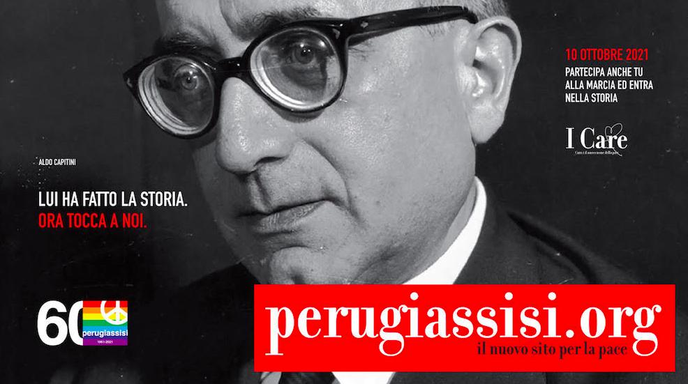Nuovo sito marcia per la pace PerugiAssisi