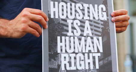 Human rights approach needed for internally displaced people's housing, land and property