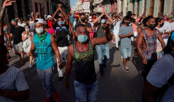 Alto Commissariato delle Nazioni Unite per i Diritti Umani sulla situazione a Cuba