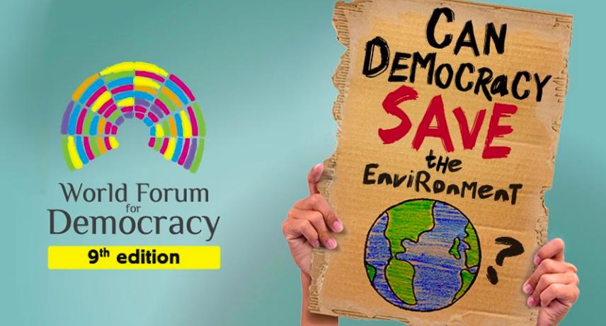 World Forum for Democracy: può la democrazia salvare l'ambiente?