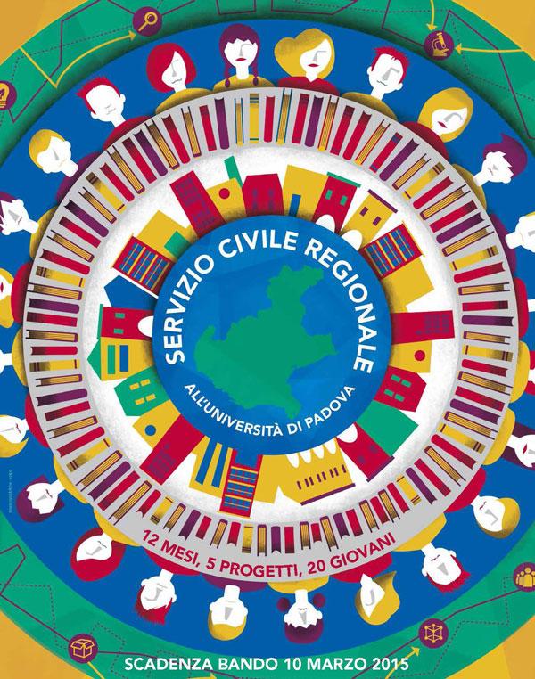 Logo del Servizio Civile Regionale 2015