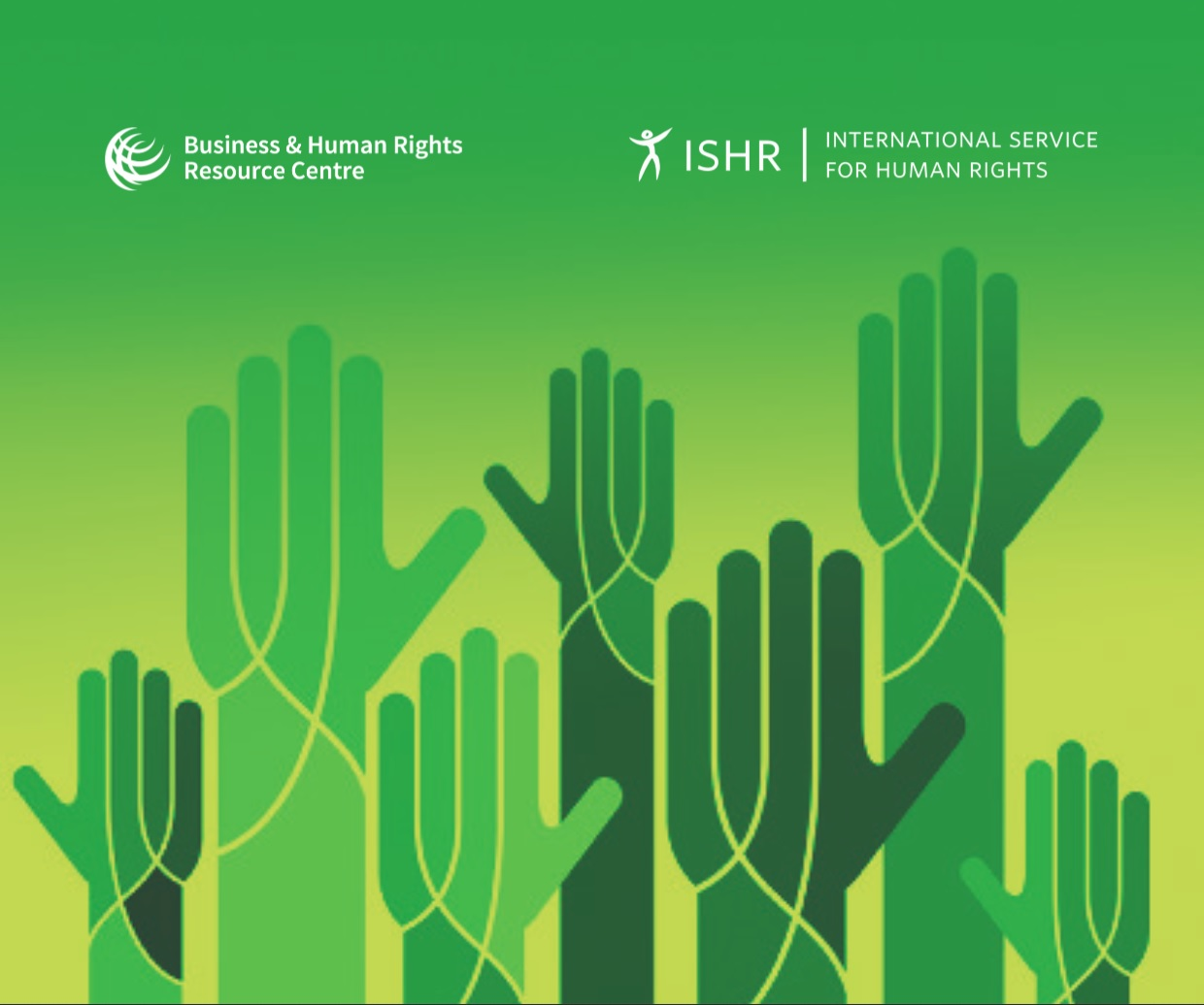Shared space under pressure: business support for civic freedoms and human rights defenders, cover