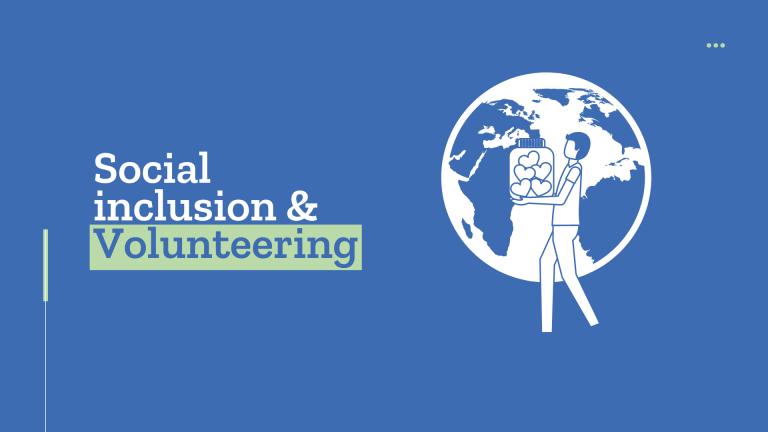 Social inclusion and volunteering