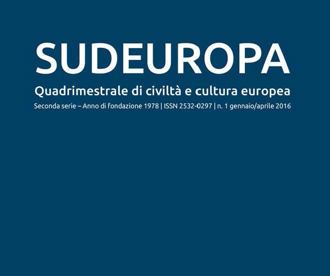 SUDEUROPA copertina