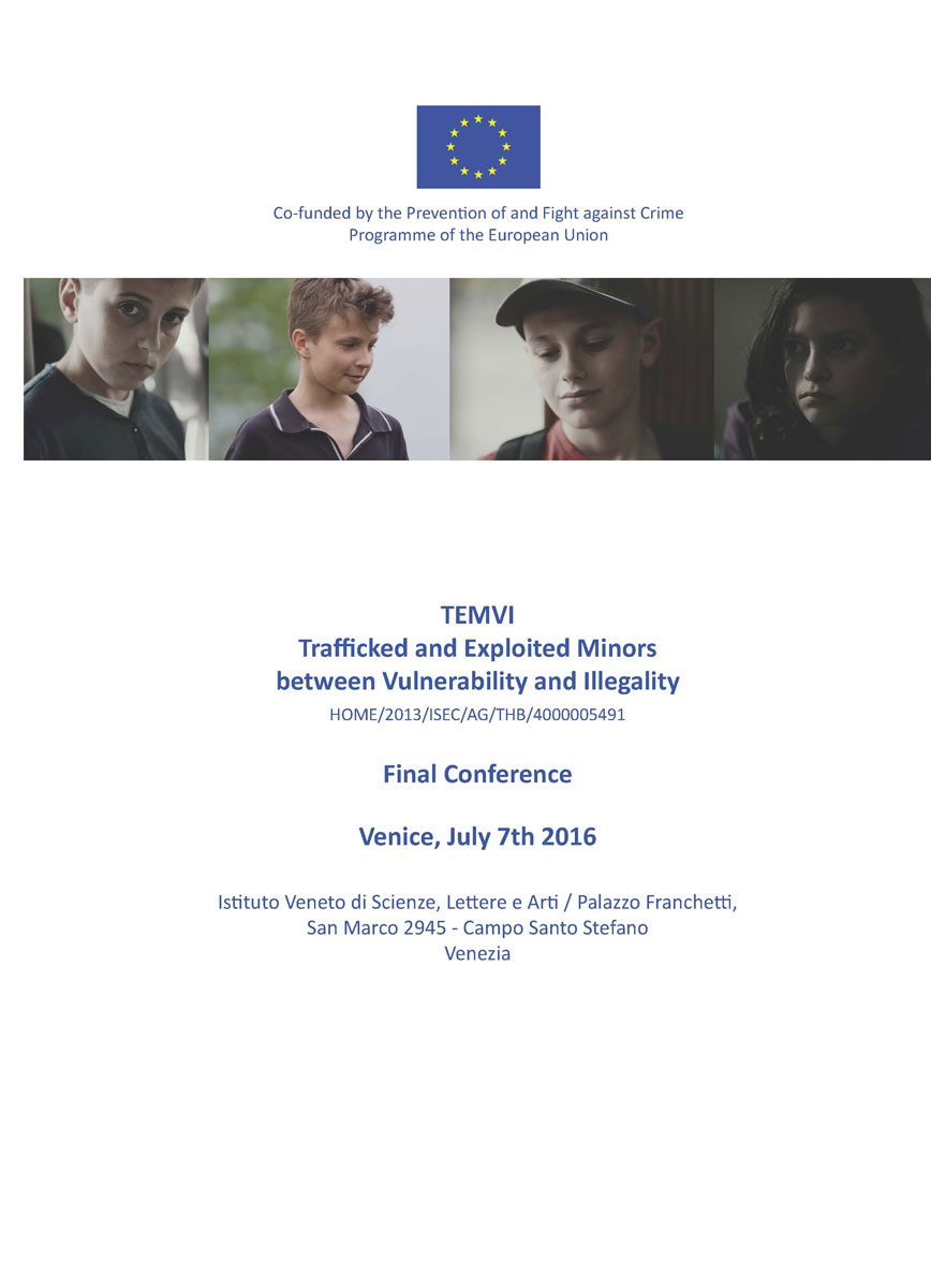 TEMVI Final Conference, Venice, 7th July 2016