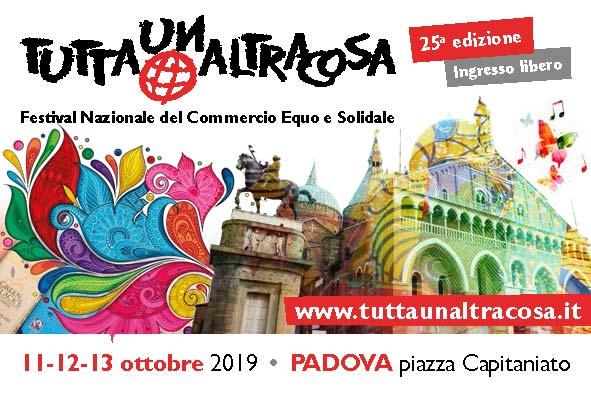 Locandina Tuttaunaltracosa festival, Padova 2019