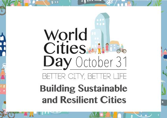UN-Habitat, Giornata mondiale delle città, 31 ottobre 2018, logo