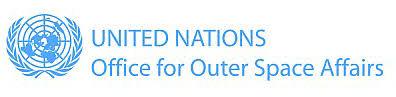 Logo Ufficio delle Nazioni Unite per le questioni relative allo spazio extra-atmosferico - UNOOSA