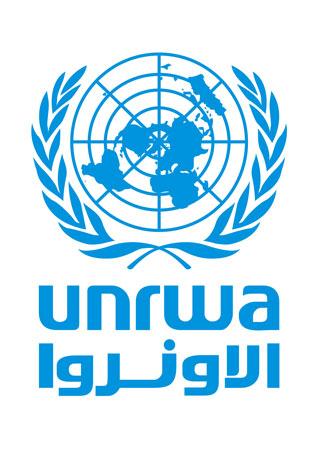 UNRWA (Agenzia delle Nazioni Unite per il Soccorso e l'Occupazione dei profughi palestinesi), logo