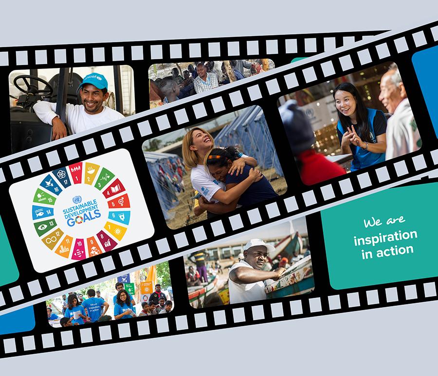 UN volunteers - siamo l'ispirazione in azione