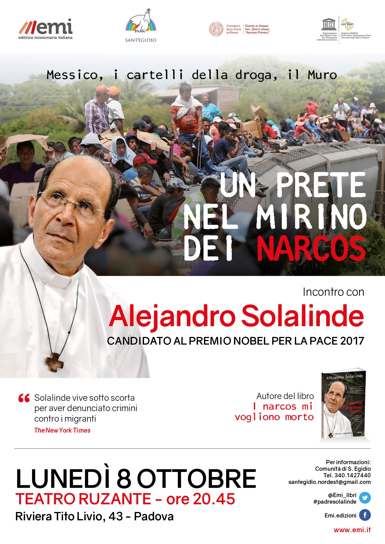 Un prete nel mirino dei narcos: incontro con Alejandro Solalinde, locandina