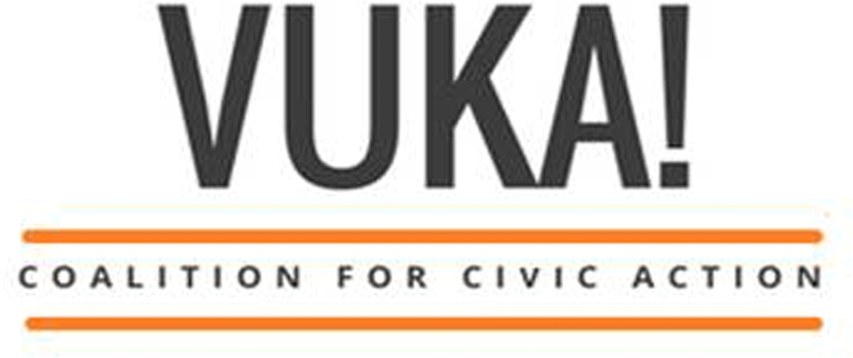 Vuka! Coalition for civic action, logo