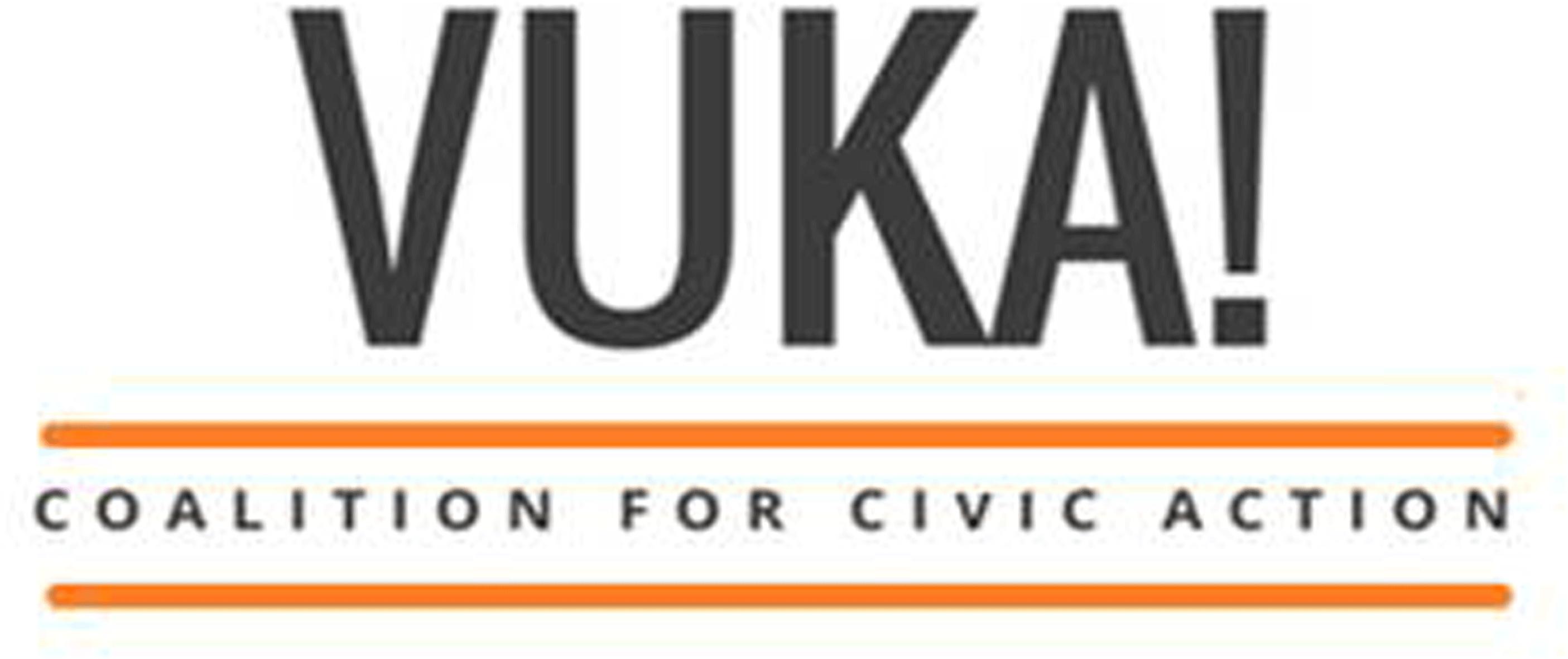 Vuka! Coalition for civic action, logo