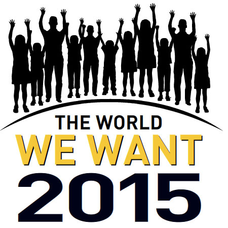 The World We Want 2015, logo