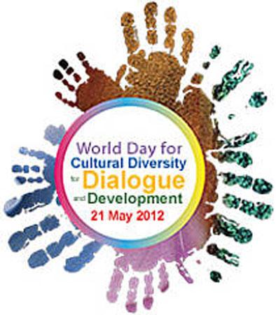 Logo della Giornata mondiale della diversità culturale per il dialogo e lo sviluppo 2012