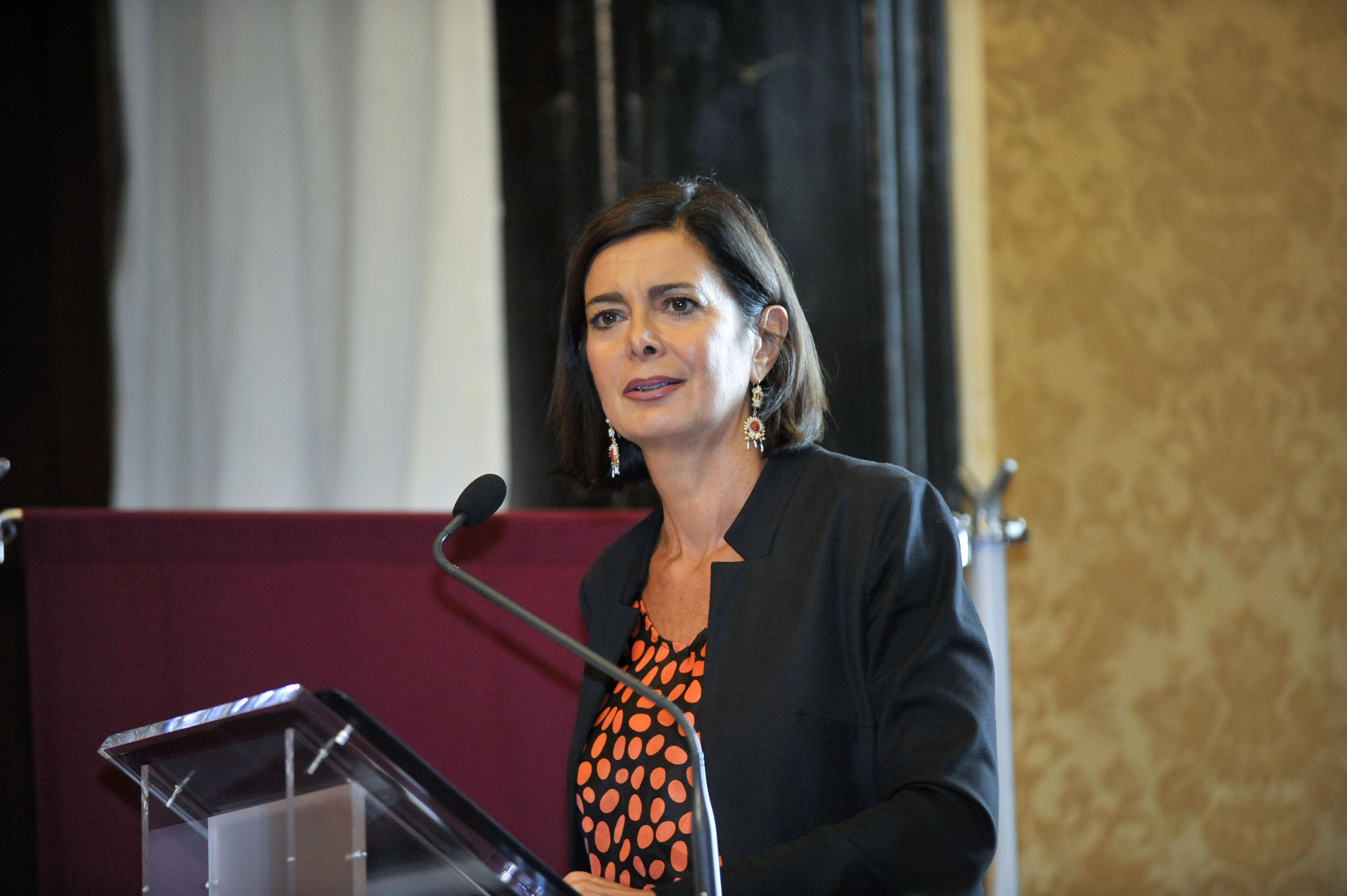 Presentazione annuario italiano diritti umani 2015 roma for Presidente della camera attuale
