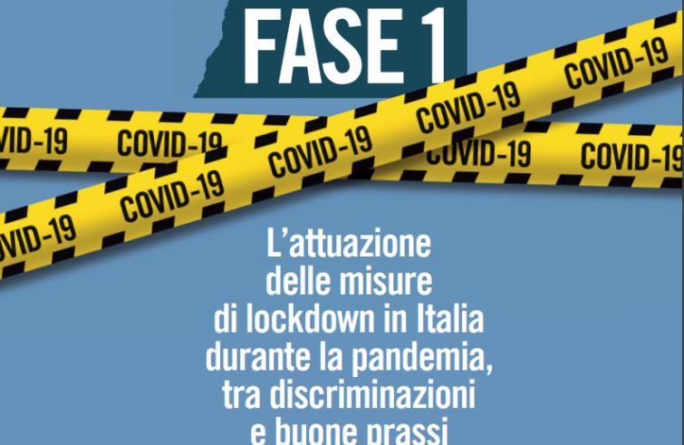 Amnesty International Italy: FASE 1 tra discriminazione e buone prassi