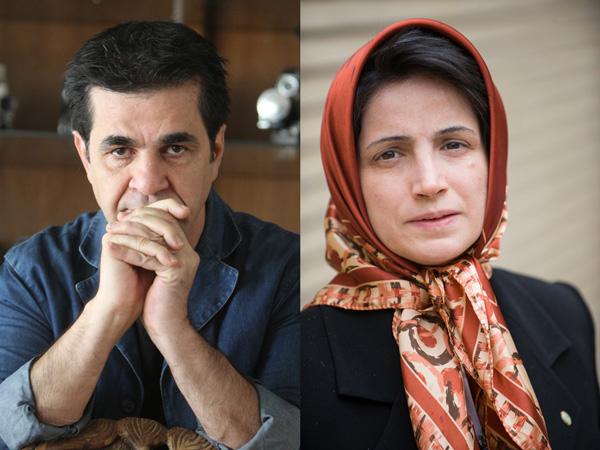 Due attivisti iraniani. l'avvocato Nasrin Sotoudeh  e il produttore/regista Jafar Panahi, sono i vincitori del Premio Sakharov 2012 per la libertà di pensiero istituito dal Parlamento europeo