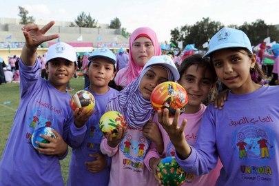 Oltre 250.000 mila bambini residenti a Gaza stanno partecipando ai Summer Game 2011 organizzati dall'UNRWA.