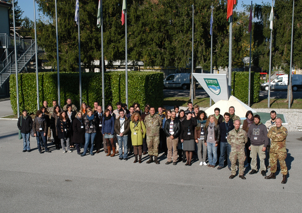 Group picture of the participants to the CIMIC Training Module, 2010