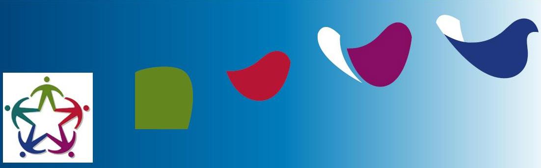 """Logo Convegno """"Dal progetto 'Caschi bianchi oltre le vendette' ai Corpi civili di pace"""", Aula Magna """"Galileo Galilei"""" dell'Università di Padova, martedì 8 luglio 2014"""