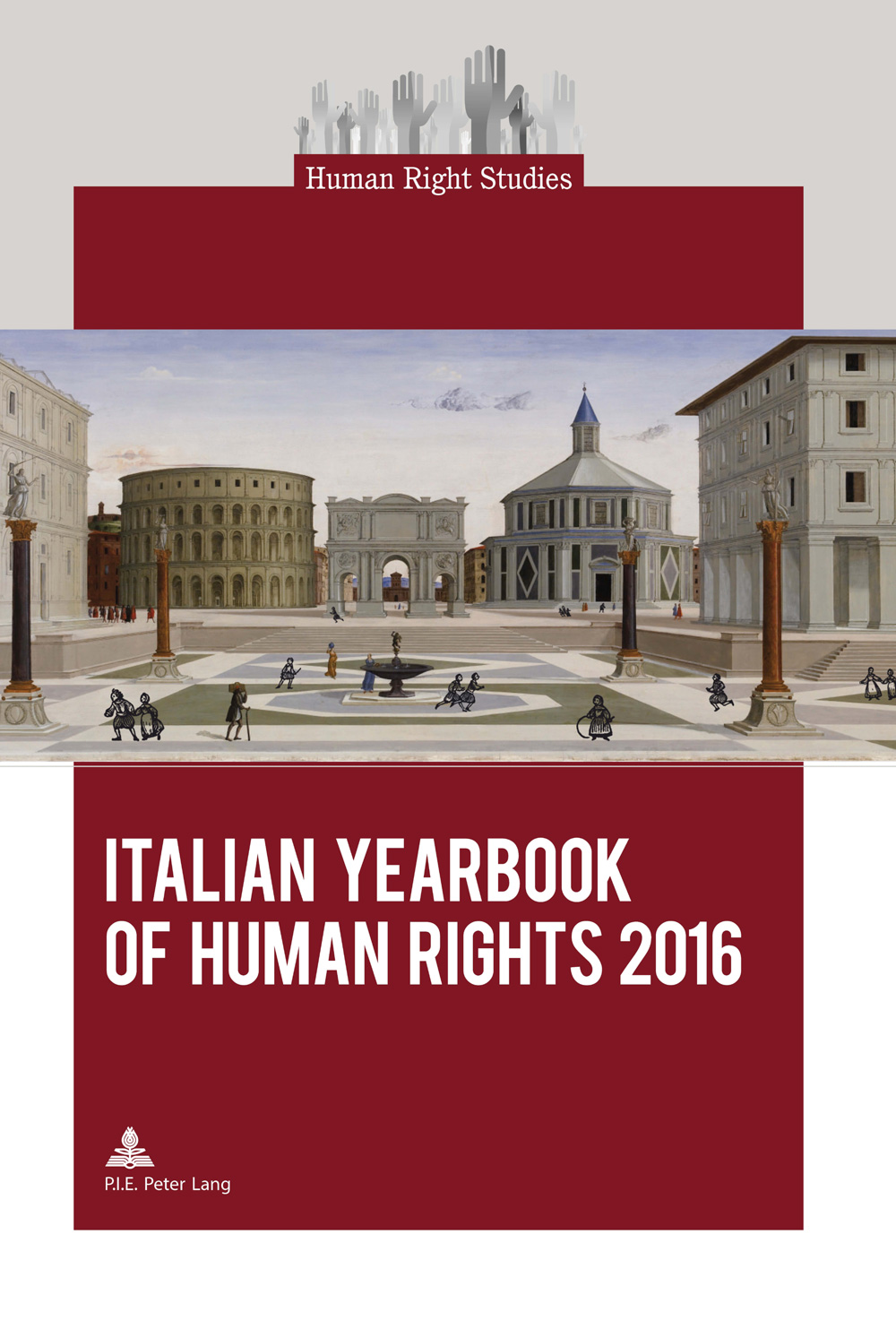 Cover dello Italian Yearbook of Human Rights 2016