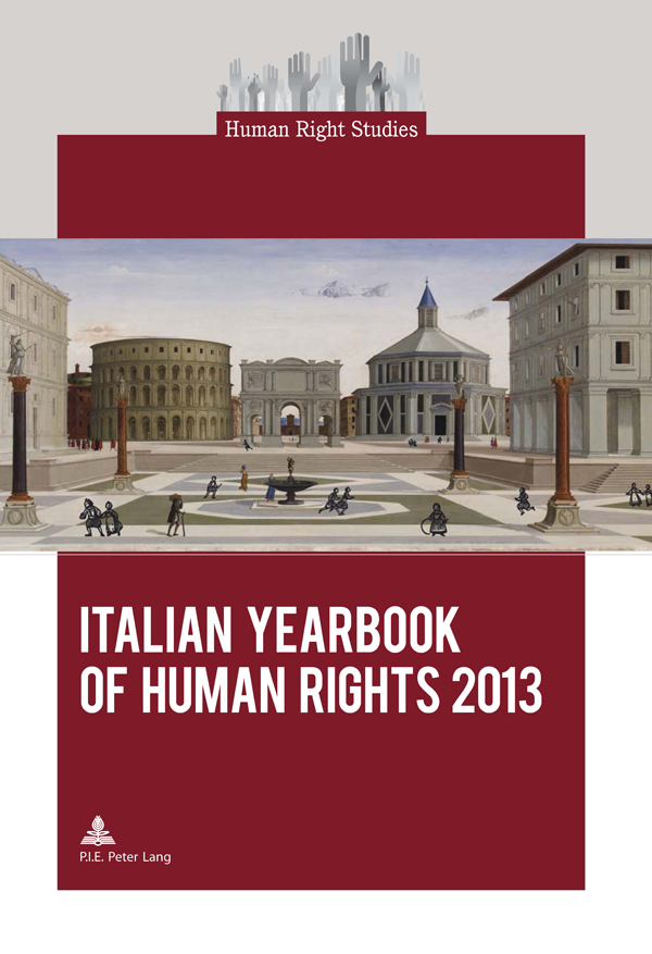 Cover of the Italian Yearbook of Human Rights 2013