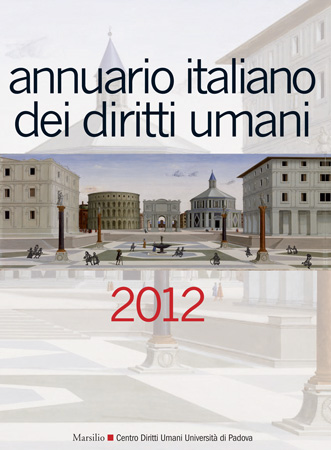 Cover of the Annuario italiano dei diritti umani 2012