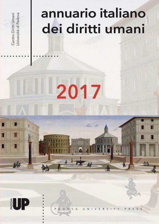 Annuario italiano dei diritti umani 2017, copertina