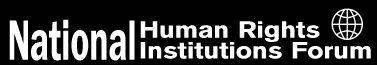 Logo Forum delle istituzioni nazionali per i diritti umani - NHRIF
