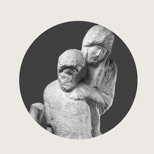 """The """"Pietà Rondanini"""", detail of the Antonio Papisca's """"The Law of Human Dignity"""" coverbook, 2010"""