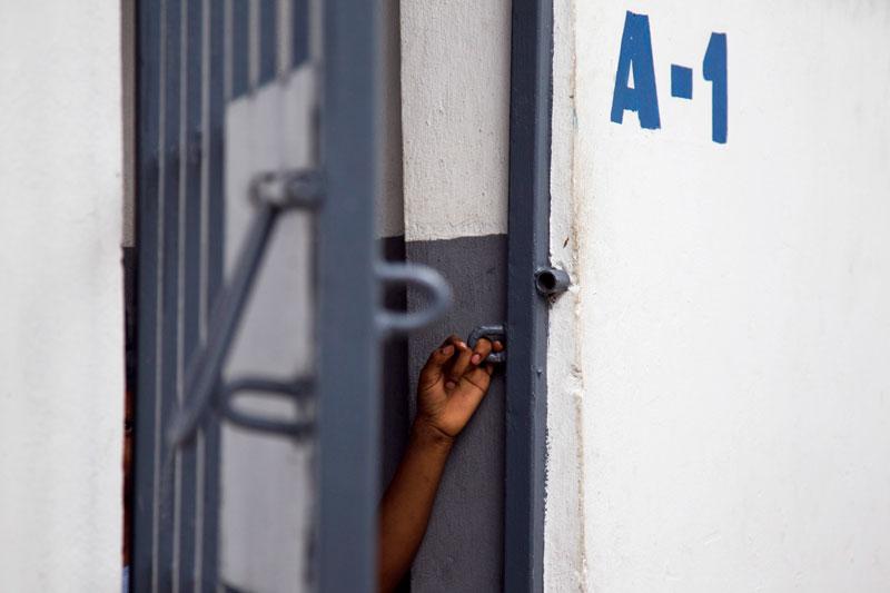 Prison cell, Port-au-Prince, Haiti