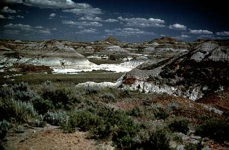 Immagine delle colline che ospitano il Parco dei Dinosauri, Australia. Patrimonio mondiale dell'Umanità UNESCO.