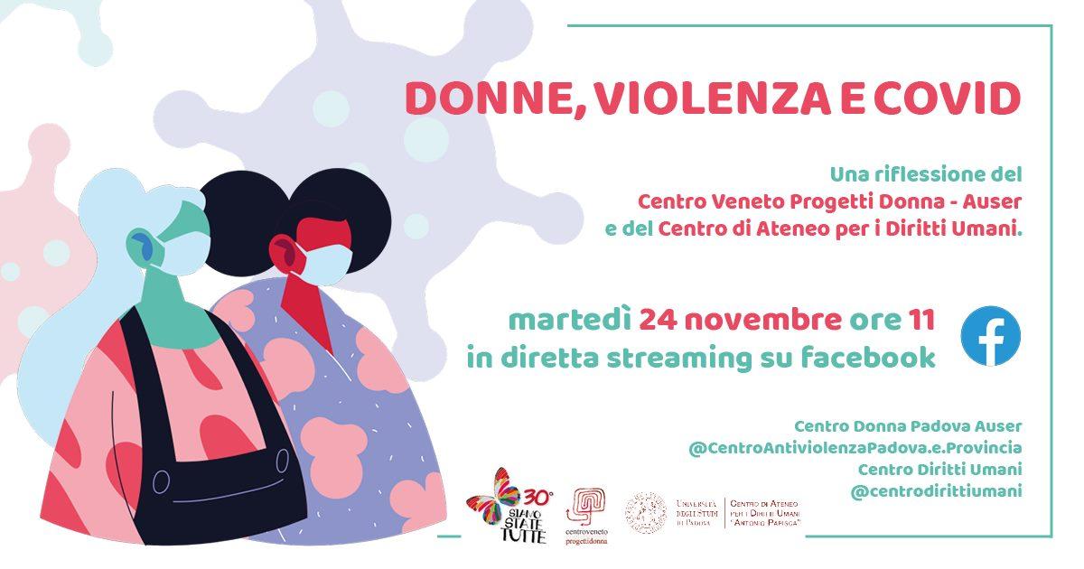 Donne, violenza e Covid, 24 novembre 2020