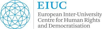 Logo EIUC - Centro europeo inter-universitario per i diritti umani e la democratizzazione